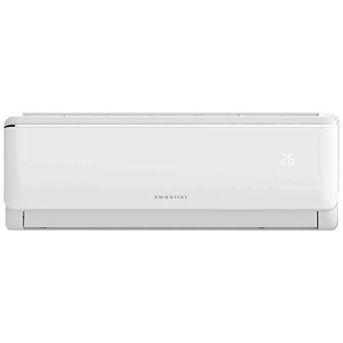 INFINITON Aire Acondicionado SPLIT-3724NA (A++, 3500 Frigorias, Inverter, Filtro antibacterias, Gas R32, WiFi, Deshumidificador, Funcion Eco, i-Clean)