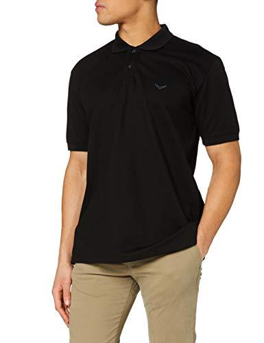 Trigema Herren 627601 Poloshirt, Schwarz, XL