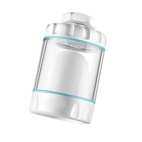 ZJJX Filtro de cocina, purificador de agua de 360 grados, purificador de agua antisalpicaduras, para el hogar