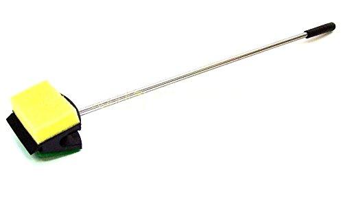 GarPet Aquarium Scheibenreiniger Schwamm + Hartschwamm 3in1 Scraper Reiniger