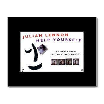 JULIAN LENNON - Help Yourself Mini Poster - 21x13.5cm