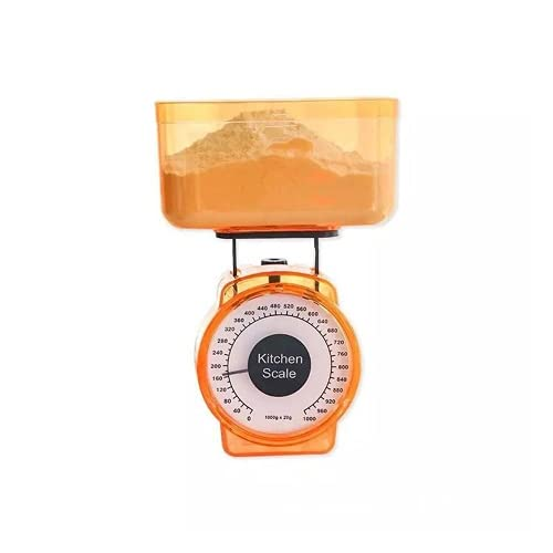 Ustensile de cuisine pour Restaurant avec lecture facile de la balance à ressort, outil de mesure des aliments Portable mécanique 1kg, pesée de légumes Prime