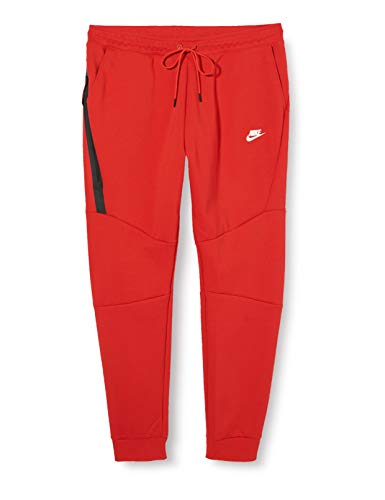 Nike Herren Sport Trousers M NSW TCH FLC JGGR, University red/(White), M, 805162