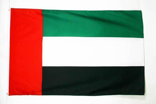 AZ FLAG Flagge VEREINIGTE ARABISCHE EMIRATE 90x60cm - VEREINIGTE ARABISCHE EMIRATE Fahne 60 x 90 cm - flaggen Top Qualität