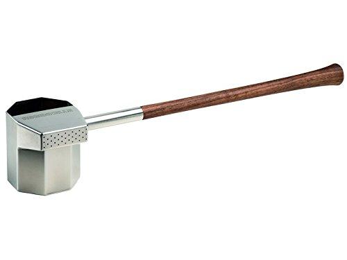 Saunagut Regenkelle® groß 550 ml mit Griff aus Nussbaum