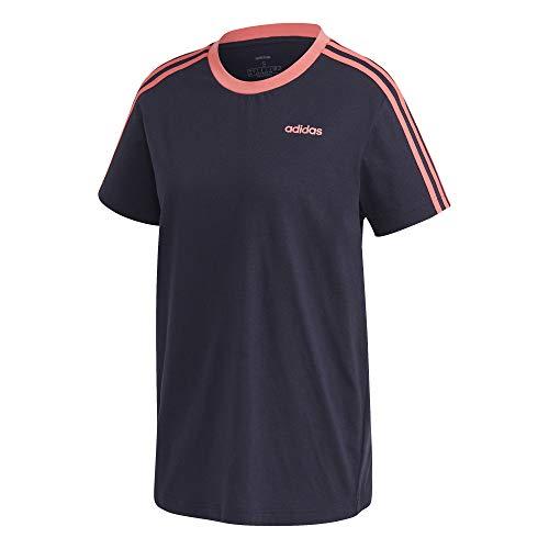 adidas 3S ESS BOYF T Camiseta, Mujer, Tinley/Rossen, S