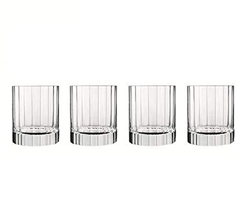 Luigi Bormioli 7540471 Boîte de 6 Chopes Forme Basse, Cristal, Transparent, 8,25x8,25x9,7 cm