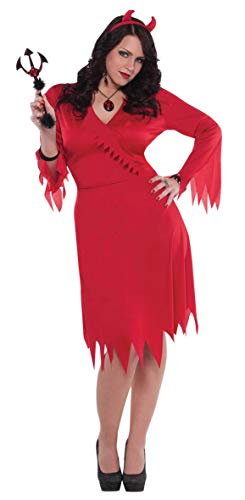 amscan Costume Red Devil pour Adulte, 997515, Rouge, XXL