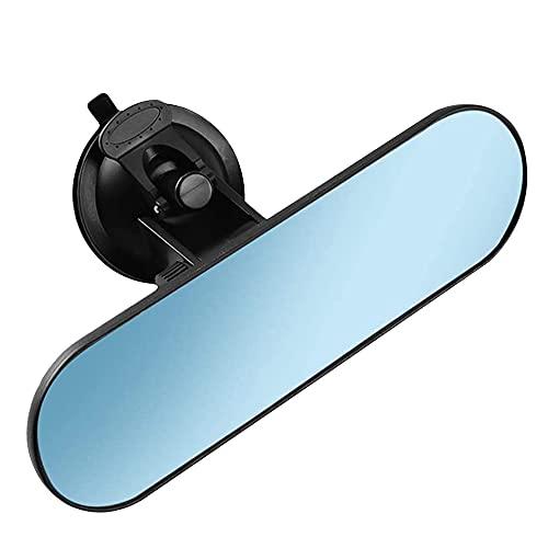 YeenGreen Specchietto Retrovisore Auto Interno, Specchietto Interno Auto Universale, 360 ° Specchio Interno Regolabile, Specchietto Retrovisore Auto Ventosa (22 x 6,5 cm)