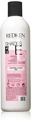 Redken rotken Shades EQ de ecualización Conditioning Color Gloss, Crystal Clear, 1er Pack (1 x 60 ml)