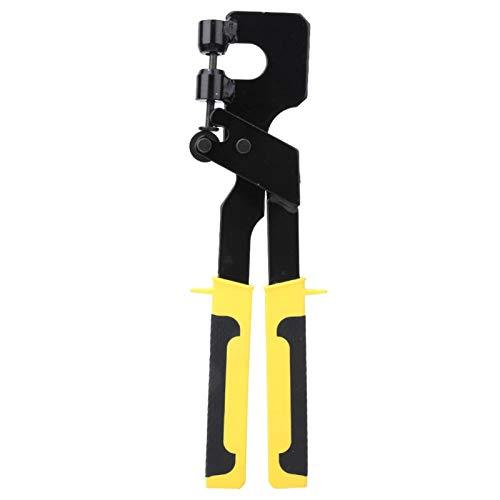 Pinzas para prensar pernos CR V Sujeción con mango de acero Trabajo Quilla Tablero Sujetador para paneles de yeso para construcción de plantas, Renovación de oficinas