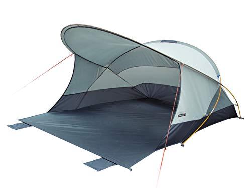 High Peak Cordoba 80 Refugio de Playa Pop up, Unisex Adulto, Aluminio/Gris Oscuro