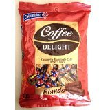 Colombina Coffee Delight Chewy Candy Caramelo Blando de Cafe 100 pieces 430g 6 Pack