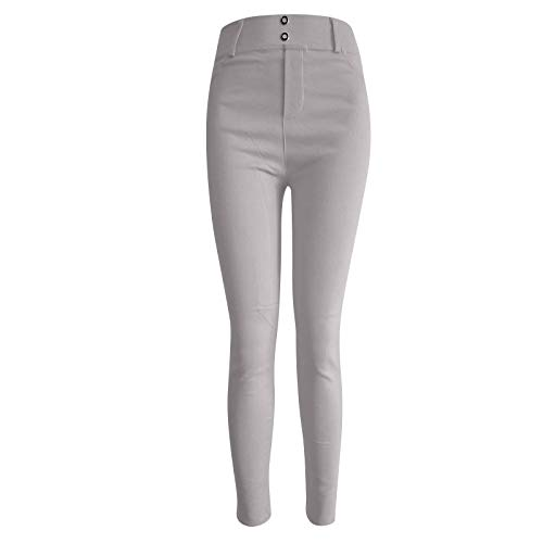 Satiable Leggings Damen Sport Tasche Jersey Elegant Yoga Hose Frauen High Waist Stretch Skinny Gummizug Sporthose