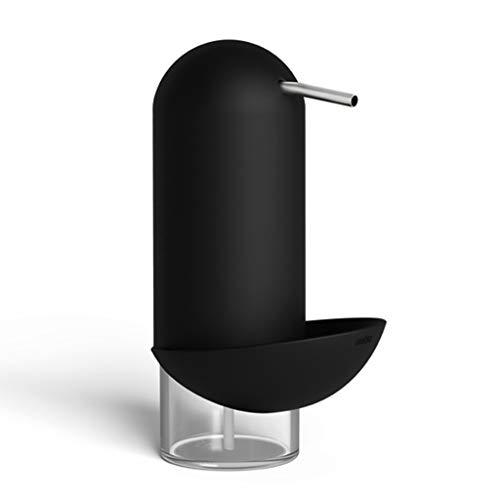 Distributeur de savon, distributeur de savon de type push ménage désinfectant pour les mains bouteille d'hôtel salle de bain distributeur de savon distributeur de savon de bureau cuisine
