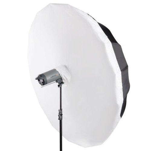 Walimex - Set ombrello riflettente,180 cm, con diffusore ombrello  e softbox