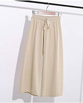 Ktkzss Pantalones Largos De Mujer Pantalon De Verano De Pantalon Ancho Para Mujer Pantalones Anchos Rectos Para Mujer Pantalones De Ocio Amazon Es Deportes Y Aire Libre