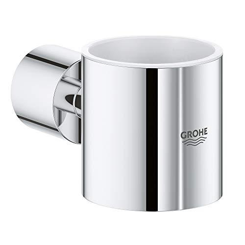 GROHE Atrio Soap Dispenser Holder, 11.5 x 9.5 x 7.0 cm, Starlight Chrome