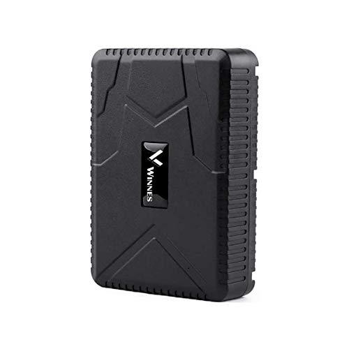 Zeerkeer Localizador GPS para Vehículos, 10000mAH GPS Tracker Astreo en Tiempo Real Rastreo de Vehículos Impermeable Fuerte Imán Recargable 120 días Standby con App/Web (TK915)