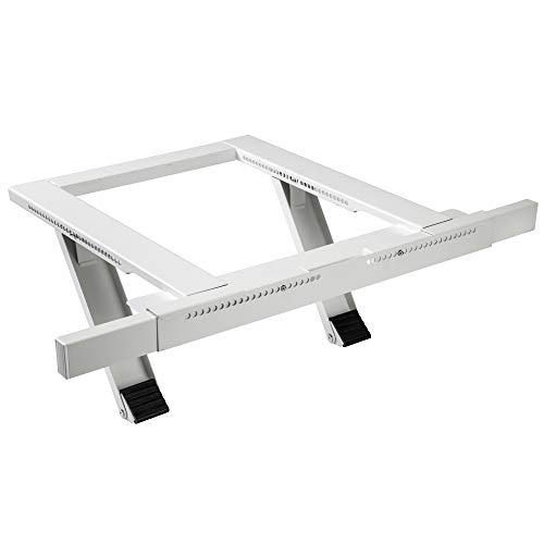 RightHand Window Air Conditioner Mounting Support Bracket – Easy To Install Universal AC Mount, No Tools Required, Heavy Duty Steel Construction Holds Up To 200 lbs – Fits Single Or Double Hung Window