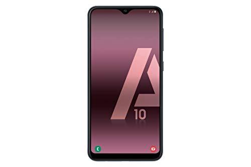 "Samsung Galaxy A10 - Smartphone de 6.2"" HD Infinity (32 GB, Dual-SIM, 3400 mAh), Negro"