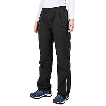 33,000ft Women s Rain Pants Lightweight Waterproof Rain Over Pants Windproof Outdoor Pants for Hiking Fishing