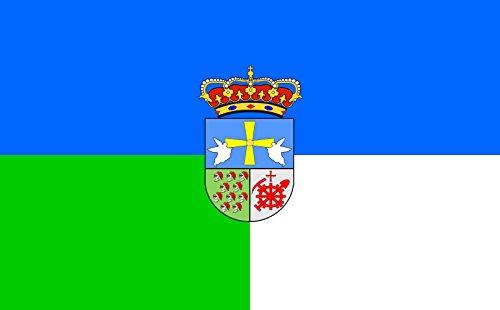 magFlags Bandera Large Langreo, en Asturias España   Bandera Paisaje   1.35m²   90x150cm