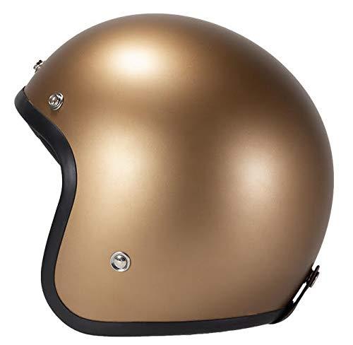 potente para casa Casco jet de motocicleta de cobre cepillado (XS) sujeto con Pende Holivet por Leguan Custom Collection