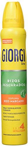Giorgi 1133-73043, Extrafuerte Espuma Rizo Marcado, 210 ml