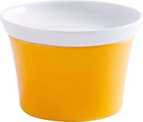 KAHLA Auflaufform mit Deckel Magic Grip Kitchen Colore Orange-Gelb