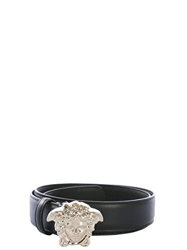 Luxury Fashion | Versace Dames DCDD442DVT2D41OC Zwart Leer Riemen | Seizoen Permanent