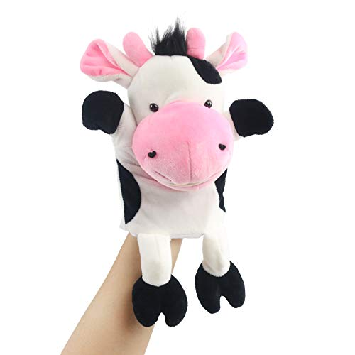 Houwsbaby Plush Turtle Hand Puppet with Open Movable...