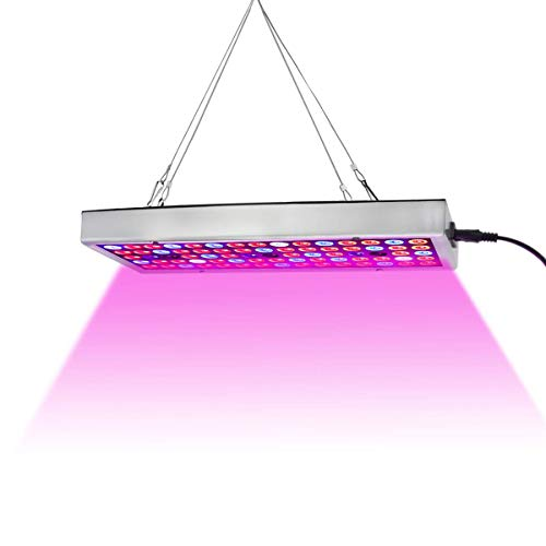 LED Grow Lights, Full Spectrum Panel Grow Lamp with IR & UV LED Plant Lights for...