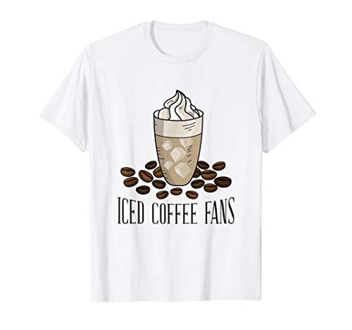 Eiskaffee T-shirt für Kaffee Fans