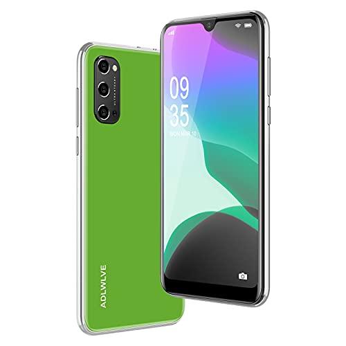 4G Smartphone Offerta del Giorno,3GB RAM 32GB ROM,6.3 Pollici Waterdrop Android 9.0 Cellulari e Smartphone 8MP Fotocamera Telefono Cellulare con Wifi Dual SIM 4600mAh Cellulare Offerta (verde)