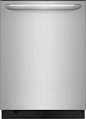 "Frigidaire FGID2468UF 24"" Gallery Series Built-In Dishwasher with 14 Place Settings Dual OrbitClean Energy Star Certified and Delay Start (Stainless Steel)"