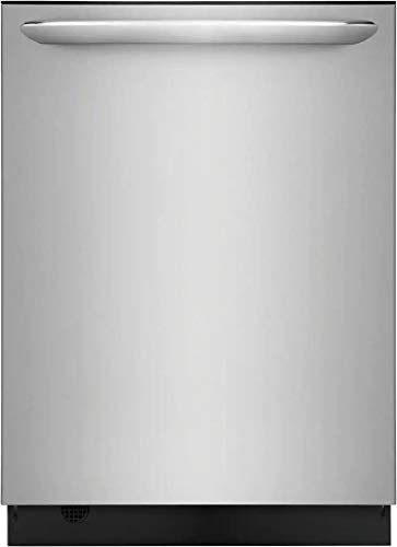 Frigidaire FGID2468UF 24' Gallery Series Built-In Dishwasher with 14 Place Settings Dual OrbitClean Energy Star Certified and Delay Start (Stainless Steel)