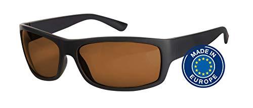 Blaulichtfilter – Sportbrille – Wrap-around Brille, Blue Blocker mit Kantenfilter 511 und 60 % Grautönung, UV-Schutz, Blendschutz, kontraststeigernde Unisex-Lichtschutzbrille IV PROSHIELD