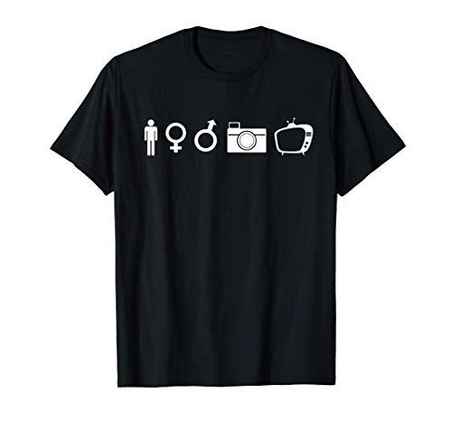Person Woman Man Camera TV men women President smart teacher T-Shirt