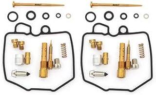 Set of 2 Deluxe Carburetor Rebuild Kits - Fits Honda CM400A - CM400T - 1979