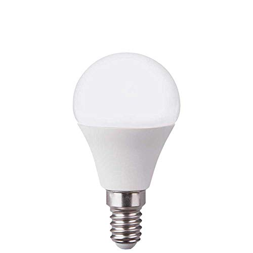 Bombilla LED Esférica E14 6W Equi.40W 470lm 15000H Raydan Home