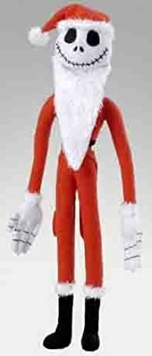 Disney Nightmare Before Christmas Santa Jacks Plush, Jack & Sally by Nightmare Before Christmas