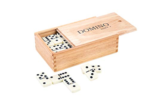 Engelhart - Domino Establece Doble 9' en Madera - 250123
