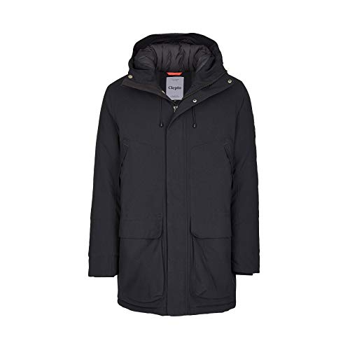 Cleptomanicx Parkistan Parka Jacket Phantom Black L