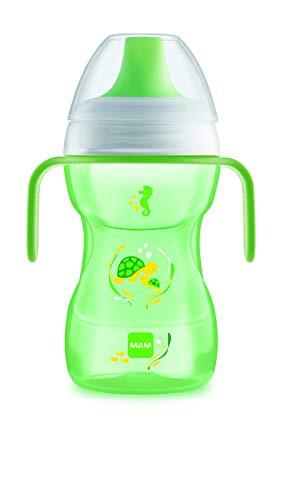 Mam Tazza Fun To Drink Cup con Manici e Beccuccio Rigido, 8+ Mesi, 270Ml, Unisex