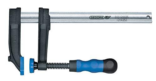 Gedore Temperguss-Schraubzwinge mit Holzgriff 120x1250 mm