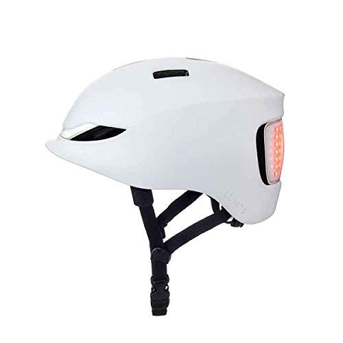 Lumos Matrix Fahrradhelm weiß