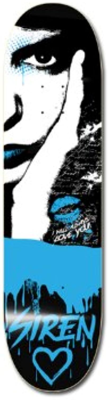SIREN Team Distraction bluee 8.0 Skatingboard Deck
