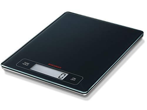 Digitale Küchenwaage Waage 5kg Briefwaage LCD-Display Feinwaage Schwarz Digital