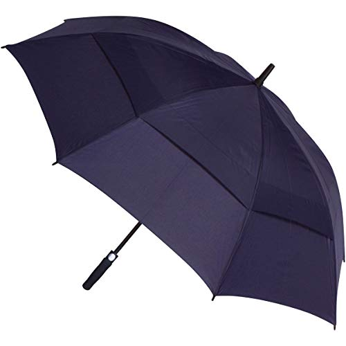 PROCELLA Large Golf Umbrella – AWARD WINNING, Windproof, Waterproof - Superior Heavy Duty Automatic Umbrella Defies High Wind, Sun & Rain – Perfect Cart Holder Fit – Carrying Case Sleeve, Strap Handle